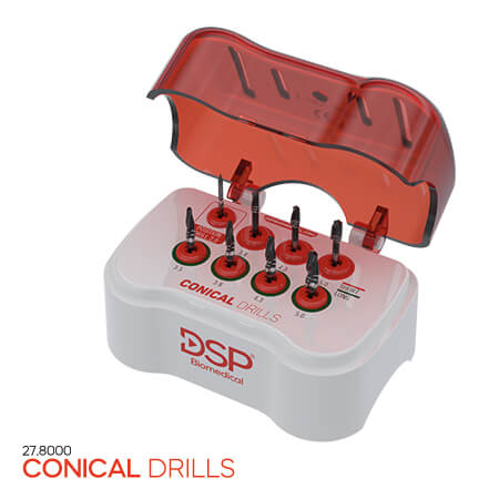 <p><strong>Conical</strong> Drills</p>
