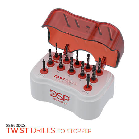 <p><strong>Twist</strong> Drills to Stopper</p>