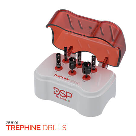 <p><strong>Trephine</strong> Drills</p>
