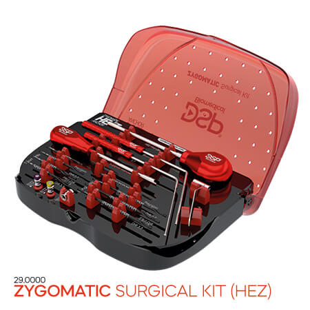 <p><strong>Zygomatic Surgical</strong> Kit (HEZ)</p>
