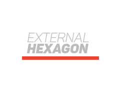External Hexagon