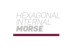 Hexagonal Internal Morse