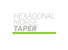 Hexagonal Morse Taper